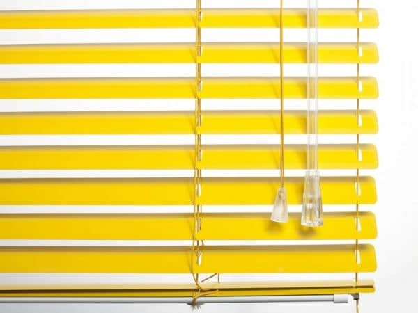 25mm_Yellow_Aluminum_Venetian_Blinds_colori